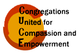 Congregations United for Compassion and Empowerment (CUCE) Logo